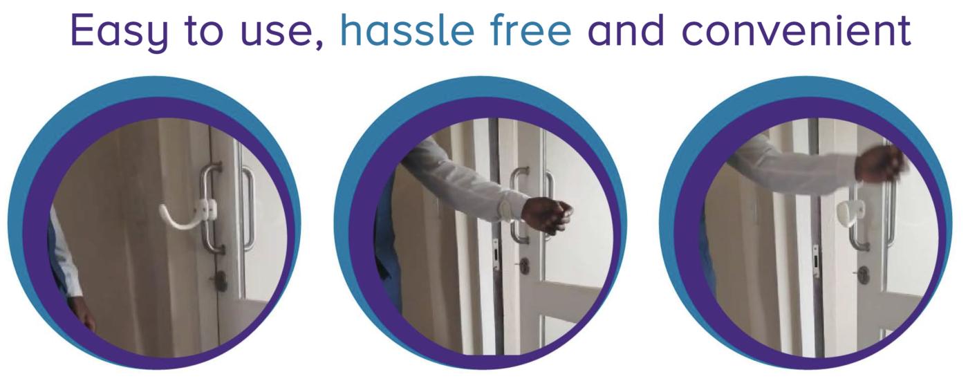 Easy hassel free door opener Ele-Handle